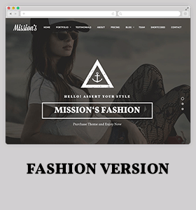 Missions | Responsive One Page Multi-Purpose